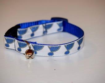 St Louis Blues Cat collars