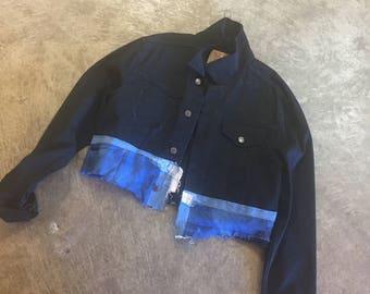 reworked Levi cotton jacket