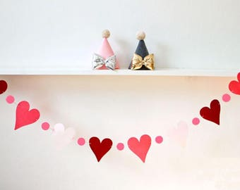 Heart Shape Party Flag Banner Home Decoration Colorful Party Flag Banner