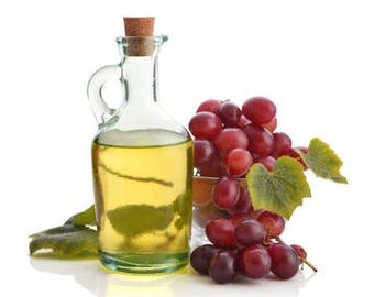 Grape Seed Oil Cold Pressed Refined Carrier Oil Ships for 1 Penny Samples 1,2,8,12,16,32,51oz