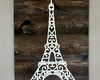 Eiffel Tower Wall Decor eiffel tower decor | etsy