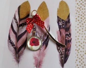 """Bookmark """"poppies"""""""