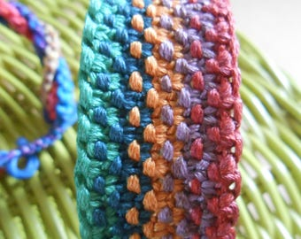 Brazilian 5 colors for men and women, bracelet woven by hand