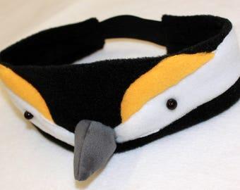 Bird headband/Titmouse headband/Titmouse costume/Bird costume/Bird dress up/Titmouse dress up/handmade costume/ Halloween costume