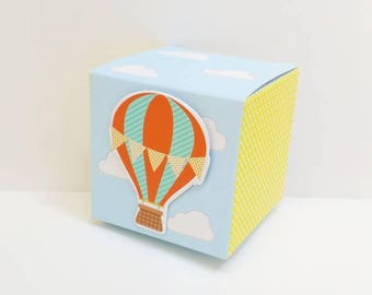 Hot Air Balloon Candy Box