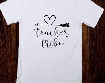 Teacher Tribe - Teacher Shirt - Personalized Teacher Shirt