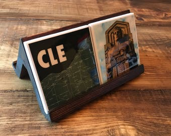 Handmade Coaster Display Stand