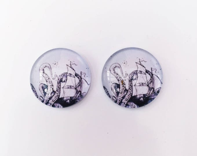 The 'Creature Feature' Glass Earring Studs