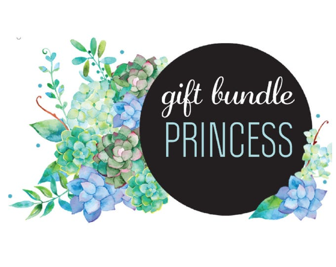 The 'Princess' Earring Studs Gift Bundle
