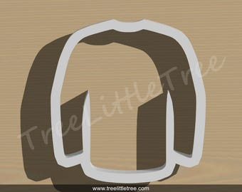 Hockey Jersey Cookie Cutter. 3D Printed. Baking Gifts. Custom Cookies. Winter Husband Gift