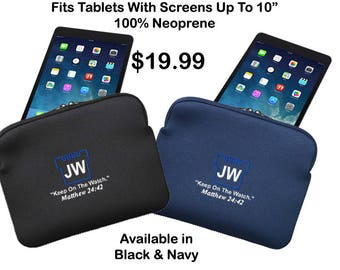 Keep On The Watch Tablet Case, Jehovah's Witness, JW Organization