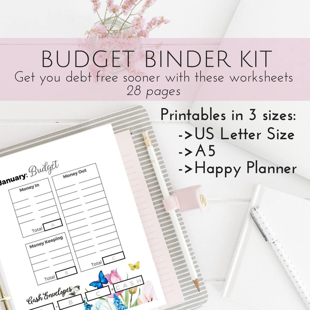 Unforgettable image throughout free happy planner budget printables