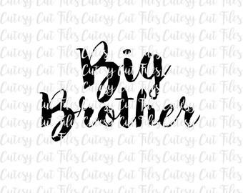 Big Brother SVG - Big Brother Shirt - New Sibling Shirt