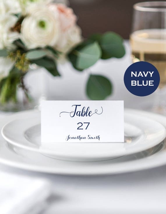 Place Cards Wedding Instant Download