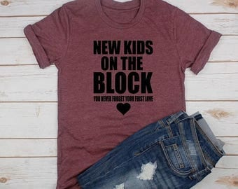 ON SALE New Kids On The Block Tee // Boy Band Shirt