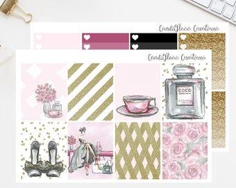 Boutique Gal Sticker Kit (For use in Erin Condren Vertical Planner)