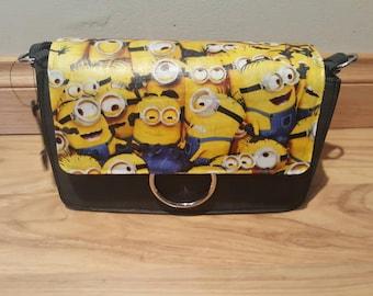 minions themed handbag - custom made