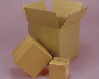shipping cardboard boxes ( 5 boxes ) 12 x 4 x 4