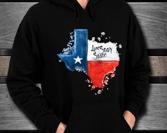 TEXAS NATIVE TEXAN Black Unisex Hoodie A Warm Soft Gift for the Texan or Texas Lover in Your Life Perfect Christmas Gift Texas Strong