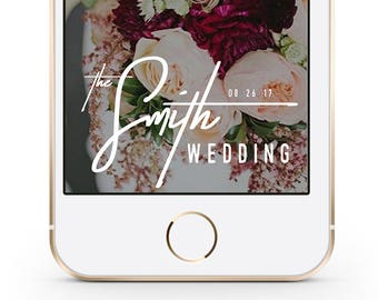 Wedding Snapchat Geofilter, Custom Wedding Snapchat Filter, Wedding Snapchat Filter, Personalized Wedding Geofilter, Snapchat Geofilter