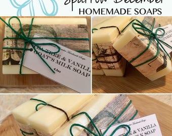Tea Tree & Vanilla Goats Milk Soap