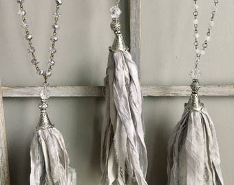Gray and Silver Boho