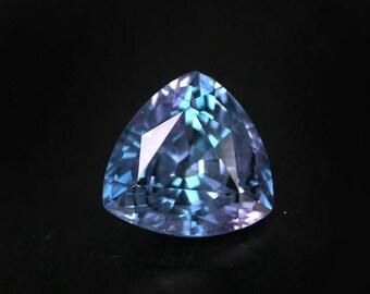 4.39 ctw. alexandrite color change loose gemstone.