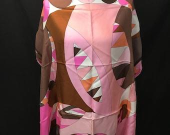 1960's Emilio Pucci Silk Scarf