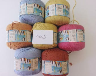 4009-yarn Wool Silk viscose + Shell-Cat