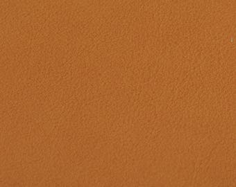 Coupon of Tangerine calf leather