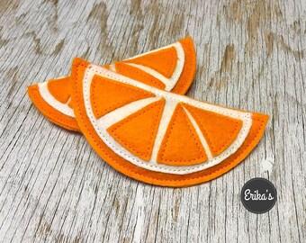 Orange Toy with organic catnip - orange for cats