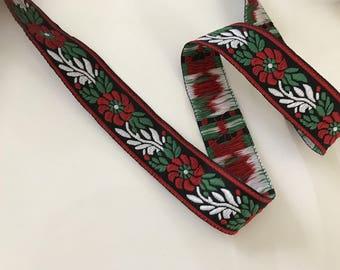 10 m medieval 2.5 cm wide red stripe
