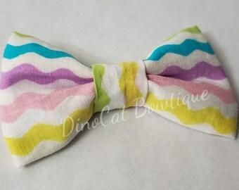 Pastel mulit-color Cat Bow