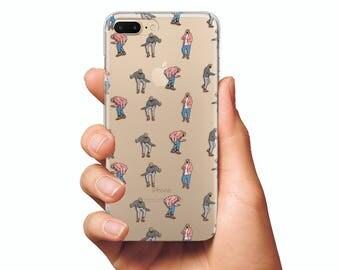 Drake case dancing case clear iphone slim iphone 7 case clear iphone 8 case Drake dancing case slim samsung s8 case clear phone case iphone