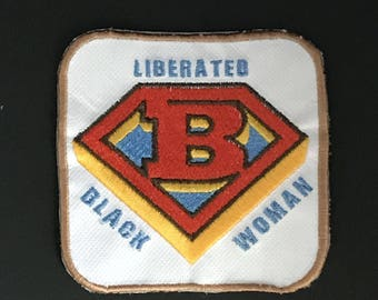 Liberated Black Woman Iron-On Patch