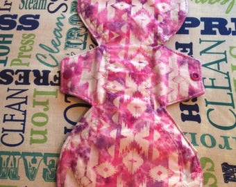"12"" Moderate Native Print Cloth Pad"