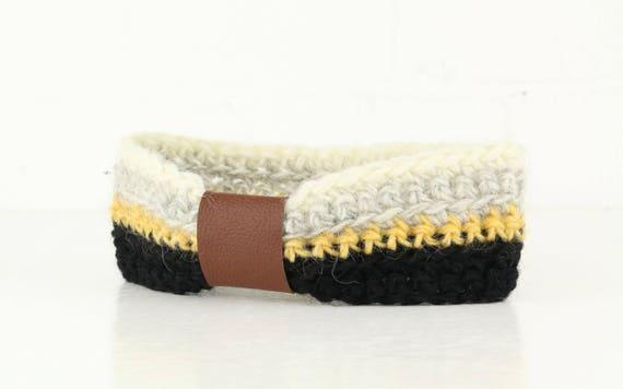 "Headband ""Ennis Band"" Icelandic wool original Icelandic woolen"