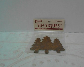 Rusty Tin Tiques Three Trees