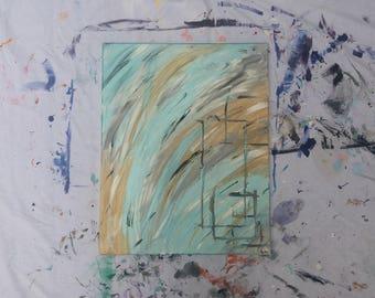 Original Hand Painted Abstract Wall Art