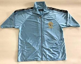 Vintage A. Versace Track jacket Short Sleeves Medusa not guci chanel supreme louis vuitton saint laurent