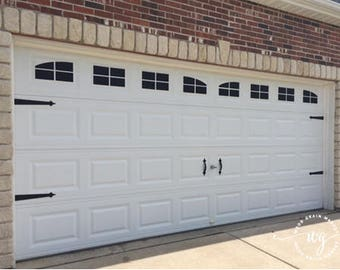 Carriage Garage Door Kit
