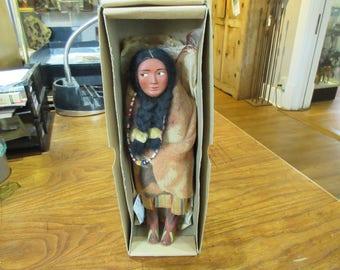 """9"""" Skookum Doll in Original Box"""
