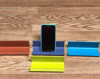 Steel phone stand, Iphone stand, Samsung phone stand,