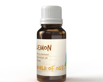 Lemon Essential Oil- 15ml