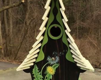 "ArtisTree ""Windswept"" Bird House"