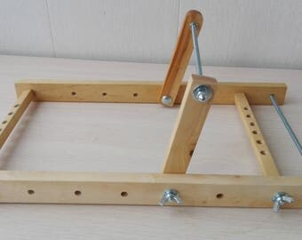 Bead Loom,frame loom, Machine tool for needlework,machine for bisser,Wooden beadwork, stand for bisseropletting,