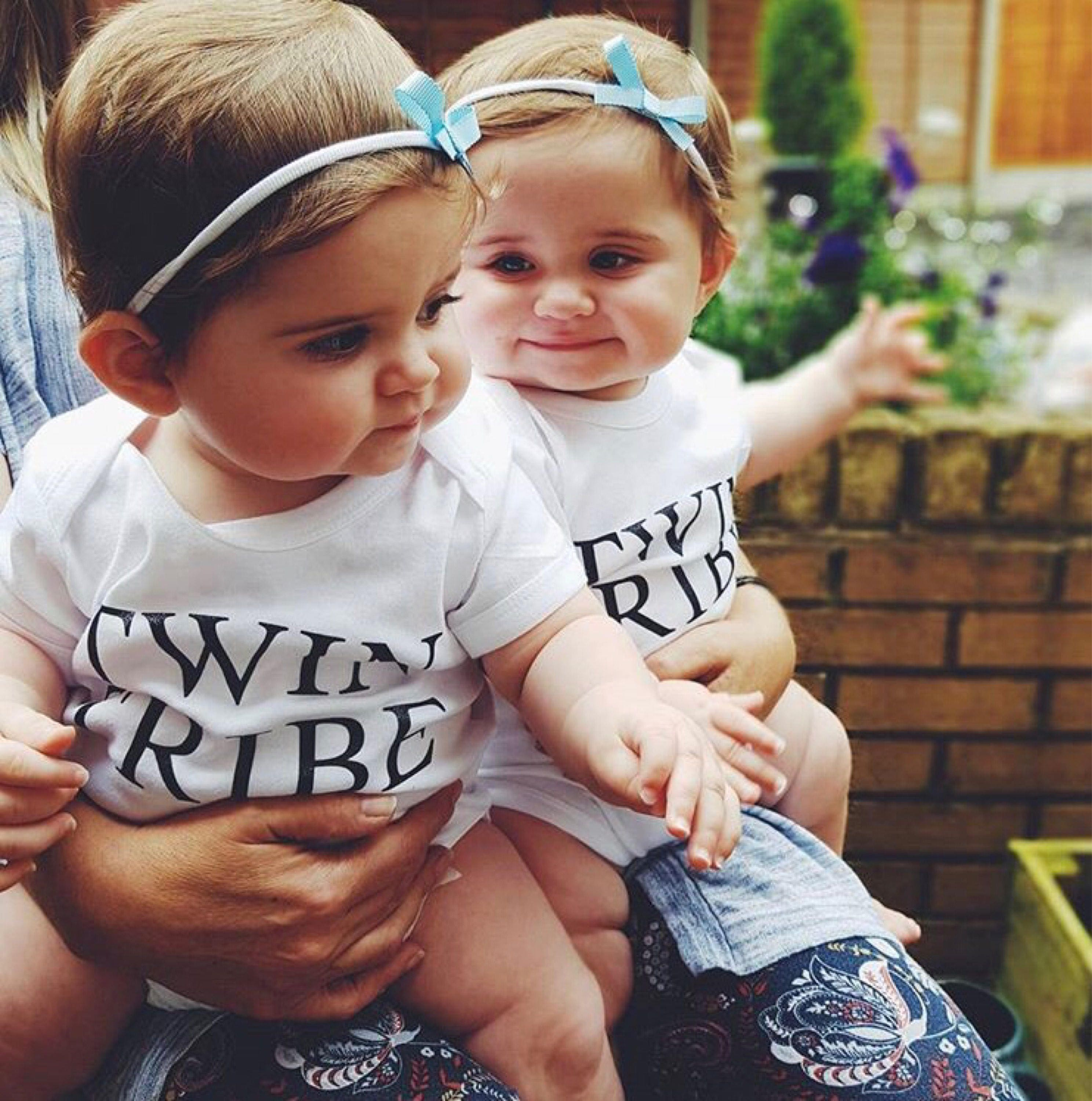 Designer Baby Clothes Twins | Twin Tribe Baby Vests Twinning Twin Baby Clothes Twin Gifts Baby