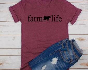 Farm Life Shirt • Bella Canvas