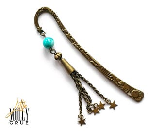 Tassel bookmarks - Page marker - Bookish gifts - Metal bookmark - Book gifts - Writer gifts - Gifts for readers - College student gift