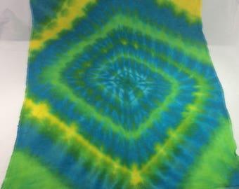 Tie dye cloth diaper
